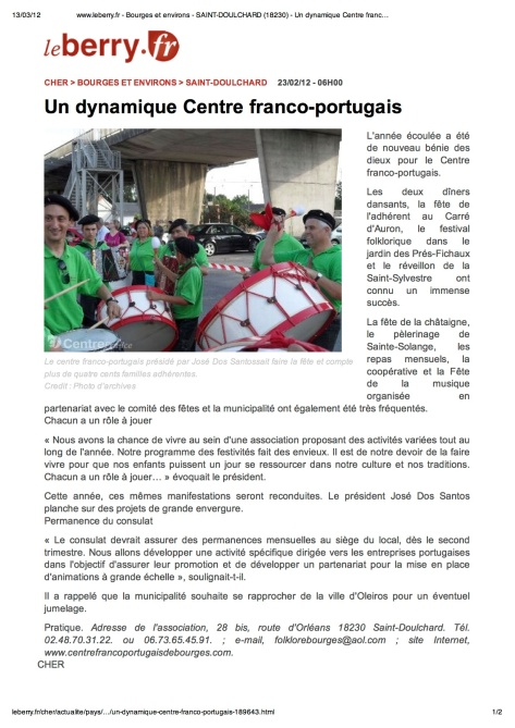Un dynamique Centre franco-portugais » - copie