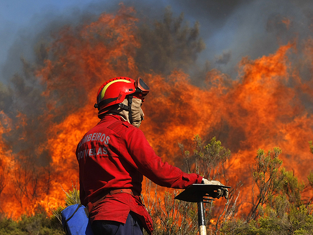 Le Portugal s'enflamme…