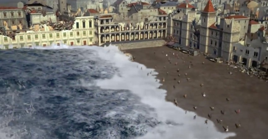 O terramoto do 1er de Novembro1755